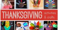Toddler Approved!: Simple Thanksgiving Activities & Crafts