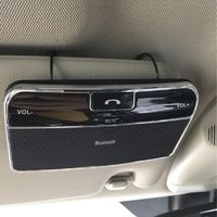Wireless Bluetooth Car Kit Set Handsfree Speakerphone V4.0 Multipoint Sun Visor Speaker for Phone Smartphones Car Charger $16.49