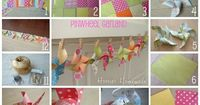 how to make a pinwheel garland - (If I don't make this today, you may smack me in the head.) ;-)