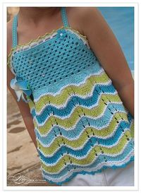Топ �€œTropical Blue Halter�€