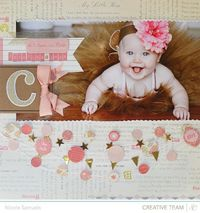 Storytime! Love the little banners! Scrapbooking Kits, Paper & Supplies, Ideas & More at StudioCalico.com!