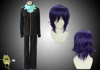 Noragami Yato Cosplay Costume Outfits + Wig