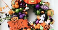 Disney Halloween Wreath Mickey Mouse by SparkleForYourCastle, $149.00