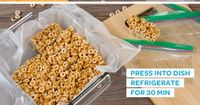 Snacking on the run's more fun when your treats hold up! Try this Homemade Granola Bar recipe, it's a great homemade snack you can make fast and take with you!