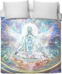 Centre of the universe Duvet Cover $120.00