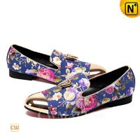 Patented Leather Shoes | CWMALLS® Printed Leather Dress Loafers CW708003[Limited Edition, Patented Design]