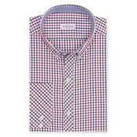 Create a stylish look with this Oxford Men multi color Check shirt. Woven in Egyptian cotton this check shirt has a fine finish.  �€� 100% Superfine Egyptian Cotton  �€� Classic collar  �€� French cuff  �€� Oxford Men ...