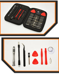 32 in 1 Multifunction Mobile Phone Disassembly Repairing Tool Kit Screwdrivers for iPhone for Samsung PC