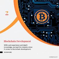 Codezeros is a top Blockchain solution and service provider company which reinvents business with Blockchain solutions. Our Blockchain development solutions fortify the business network and make it technically dominant and advanced. Our Blockchain service...