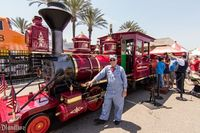 The Disneyland Railroad Locomotive #4, the Ernest S. Marsh, will be at the 2014 Fullerton Railroad Days