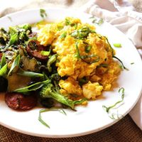 Grown Up Scrambled Eggs