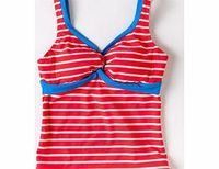 Boden Twist Front Tankini, Mocha,Tulip,Hibiscus Take the plunge in our Twist Front Tankini with clever tummy control, secret support and soft moulded cups. Make a splash in nautical stripes, fun spots and fabulous solid colours. http://www.comparestorepri...