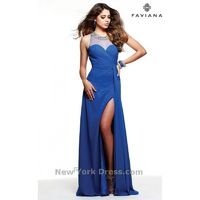 Faviana 7588 - Charming Wedding Party Dresses|Unique Celebrity Dresses|Gowns for Bridesmaids for 2017