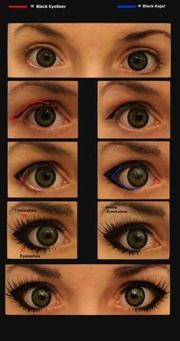 Another poster said:I always do this when I want bigger looking eyes, always get complements:)