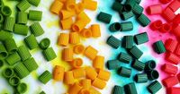 DIY Colored Pasta -