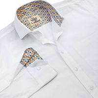White Twill India Formal Regular Fit Cotton Shirt �'�1049.00