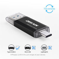 DISAIN 32GB Type-c OTG USB 3.0 U Disk Flash Drive for Xiaomi Mobile Phone Tablet PC
