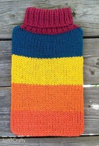 Give your laptop a little protection and a whole lot of style with the Knit Laptop Sweater Pattern. This cute and easy knitting project is a fun way to accessor