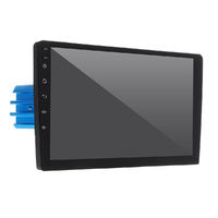 PX6 10.1 Inch 1 DIN 4+64G for Android 9.0 Car MP5 Player 8 Core Touch Screen bluetooth Radio GPS