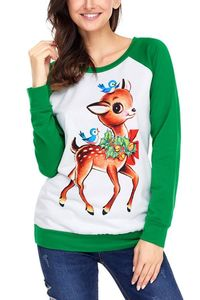 Pavacat Christmas Round Neck Leisure Tee $24.99
