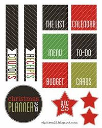 christmas planner, planners and christmas.