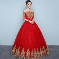Spectacular Off The Shoulder Wedding Ball Gown $99.99