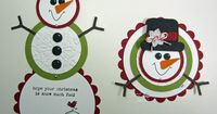 to go with snowman tealight idea. Inking Idaho: Snowman with Instructions