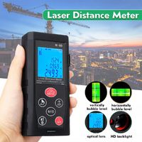 150m/492ft LCD Digital Laser Distance Meter Range Finder Diastimeter Tester Tool