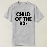 Child Of The 80s T-shirt, Child Of The 80s Shirt, Ladies Unisex Crewneck T-shirt, 80s T-shirt $16.50