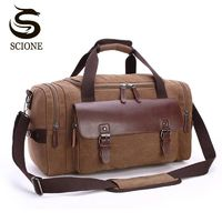 Price: $41.99 | Product: Large Capacity Travel Men Shoulder Vintage Crossbody Travel Duffel Bags | Visit our online store https://ladiesgents.ca