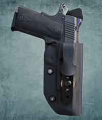 """Inside the Waistband (IWB) Holsters from Tucker Gunleather  Now enjoy all day comfort with your gun tucked in one of our IWB's """"tuckable"""" holster so that you can tuck in your shirt over the gun for complete concealment.Fordetails..."""