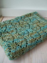 Free. Chalice Baby blanket by Lykke og Løkker on Ravelry. Pattern for Aran weight