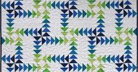 A Gaggle of Goslings by emma louise, via Flickr. She designed this quilt for Australian Patchwork & Quilting Magazine