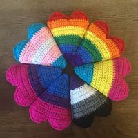 Here's a cute way to show off your pride! - hearts