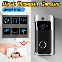 M3+ 720P Smart Wireless WiFi Ring Video Doorbell Camera Phone Home Intercom Bell