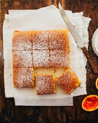 This Portuguese orange cake is moist and fragrant, with the most alluring bright orange flavour.