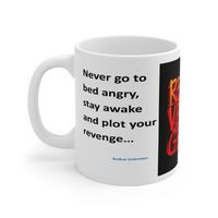 Ceramic Famous Quote Mug, Graphic & Saying - Revenge. This 11oz. mug makes a great forever gift!