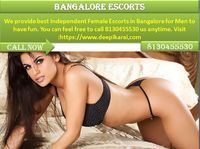 Find Independent Escorts in Bangalore in 5 star Hotels, Choose High profile model in Bangalore. With Our model you can feel free to call 8130455530 us anytime. Website: https://www.deepikarairai.com/