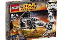 Star Wars LEGO Star Wars 75082 TIE Advanced Prototype Enforce the Empires will in the LEGO Star Wars TIE Advanced Prototype with folding wings, spring-loaded shooters, opening hatch and more.Suitable for builders (Barcode EAN = 5702015351157) http...