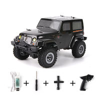 URUAV 2 Battery D1RC 1/24 2.4G 4WD Mini Rc Car Proportional Control Waterproof Crawler Electric Vehicle RTR Model