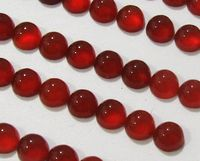 Cabochons Carnelian Calibrate size Loose gemstones, Gemstone Wholesale Gemstones, 50 Carnelian Round Cabochons 4 mm Gemstones 13.15 carat $48.88