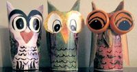 Easy Toilet Paper Roll Owls