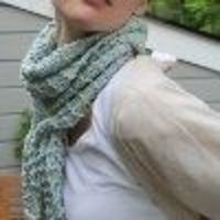 Follow these easy scarf knitting instructions to make your own light and lacy scarf for spring. The Slip Through Scarf is knit with two strands of yarn at once, making this accessory a perfect blend of two fabulous colors. Large U.S. size 11 needles make ...