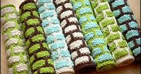dish cloth, made a lot of these for gifts just add some wonderful hand soap or wash! Everyone loves these!