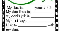 This free Father's Day Printable will make the dad in your life smile. It's a great keepsake to offer every year!