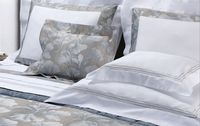 Mark Embroidery Bedding by Dea Linens $398.00