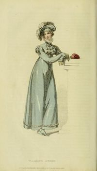 Walking Dress - Jan. 1818