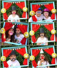 Joint Big Top Circus Carnival Birthday Party - ideas on DIY decorations, favors, printables and carnival games for boys and girls or twins!
