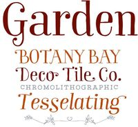 Garden font family. // Garden from Los Andes was inspired by a visit to Brazil. Captivated by the cheerfulness and warmth of its people and culture, Mendoza Vergara created an endearing typeface family based around a series of ornaments and dingbats.