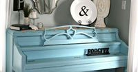 Painted piano home-decor